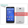 Nillkin Sony Xperia E4 (E2104/E2105) hátlap képernyővédő fóliával - Nillkin Frosted Shield - fehér
