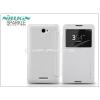 Nillkin Sony Xperia E4 (E2104/E2105) oldalra nyíló flipes tok - Nillkin Sparkle - fehér