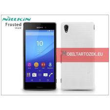 Nillkin Sony Xperia M4 Aqua (E2303/E2306/E2353) hátlap képernyővédő fóliával - Nillkin Frosted Shield - fehér tok és táska