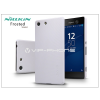 Nillkin Sony Xperia M5 (E5603/E5606/E5653) hátlap képernyővédő fóliával - Nillkin Frosted Shield - fehér