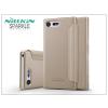 Nillkin Sony Xperia X Compact (F5321) oldalra nyíló flipes tok - Nillkin Sparkle - gold