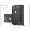 Nillkin Sony Xperia XZ2 Compact (H8314/H8324) oldalra nyíló flipes tok - Nillkin Qin - fekete