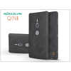 Nillkin Sony Xperia XZ2 (H8216/H8276/H8266/H8296) oldalra nyíló flipes tok - Nillkin Qin - fekete