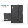 Nillkin Sony Xperia XZs (G8231/G8232) oldalra nyíló flipes tok - Nillkin Qin - fekete
