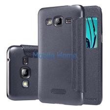 Nillkin Sparkle flip tok Samsung J320 Galaxy J3 2016, fekete tok és táska