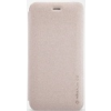 Nillkin Sparkle oldalra nyíló bőrbevonatos csillámos fliptok Apple iPhone 6 Plus 5.5, 6S Plus 5.5-höz arany*