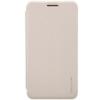 Nillkin Sparkle oldalra nyíló bőrbevonatos csillámos fliptok Asus ZE500CL Zenfone 2-höz arany*