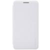 Nillkin Sparkle oldalra nyíló bőrbevonatos csillámos fliptok Asus ZE500CL Zenfone 2-höz fehér*