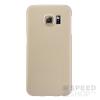 Nillkin Super Frosted hátlap tok Samsung G925 Galaxy S6 Edge, arany + ajándék kijelzővédő fólia