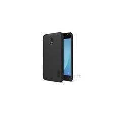 Nillkin Super Frosted hátlap tok Samsung J330 Galaxy J3 2017, fekete + ajándék kijelzővédő fólia tok és táska