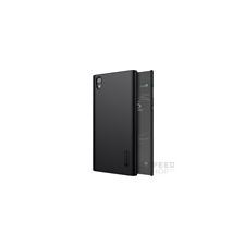 Nillkin Super Frosted hátlap tok Sony Xperia L1, fekete + ajándék kijelzővédő fólia tok és táska