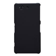 Nillkin Super Frosted hátlap tok Sony Xperia Z3 Compact, fekete + ajándék kijelzővédő fólia tok és táska