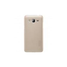 Nillkin Super Frosted Samsung Galaxy J3 (2016) hátlap (arany) tok és táska