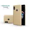 Nillkin Xiaomi Redmi Note 5/Note 5 Pro hátlap képernyővédő fóliával - Nillkin Frosted Shield - gold