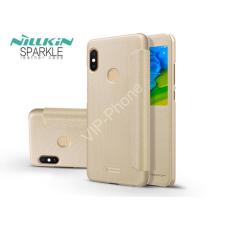 Nillkin Xiaomi Redmi Note 5/Note 5 Pro oldalra nyíló flipes tok - Nillkin Sparkle - gold tok és táska