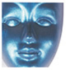 Nincs gyártó kiválaszva Metál akrilfesték 100 ml kék