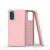 Nincs info Samsung Galaxy S20 ütésálló szilikon tok, rózsaszín
