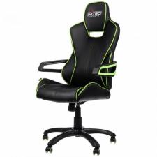 Nitro Concepts E200 Race Gamer szék - Fekete-Zöld videójáték kiegészítő
