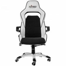 Nitro Concepts E220 Evo Gamer szék - Fehér-Fekete videójáték kiegészítő