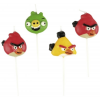 No-name Party Gyertya Szett - Angry Birds < 4 db/ csom>