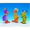 Nobby Kutyajáték gumiból vegyes állatok 11cm (madár,kacsa,tehén)