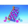 Nobby Kutyajáték gumiból vegyes állatok 7 cm pink-kék (béka,süni)