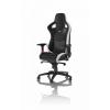 Noblechairs EPIC Gamer szék BŐR - fekete-fehér-piros