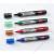 NOBO Táblamarker, 1-3 mm, folyékonytintás, NOBO, kék (VN1075)