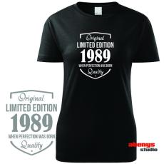 Női póló ünnepelteknek - LIMITED EDITION + születési év kérés szerint