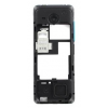 Nokia 206 Dual Sim középső keret kék*