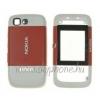 Nokia 5200 előlap és akkufedél pink*