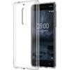 Nokia 5 gyári hybrid hátlap tok, átlátszó, CC-704
