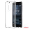 Nokia 5 szilikon hátlap,Átlátszó