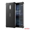 Nokia 6 carbon hátlap, Onyx fekete