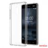 Nokia 6 szilikon hátlap,Átlátszó