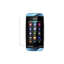 Nokia Asha 305,  306 kijelző védőfólia mobiltelefon előlap