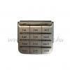 Nokia C3-01 billentyűzet ezüst*