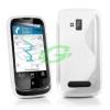 Nokia Lumia 610 szilikon tok fehér