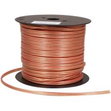 Noname Hangszóró kábel 2 eres - 2x 4.00mm átlátszó /m audió/videó kellék, kábel és adapter