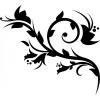 Nonfiguratív virágág