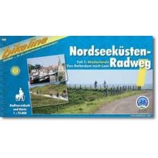 Nordseeküsten-Radweg 1 - Esterbauer térkép