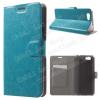 Notesz tok / flip tok - KÉK - asztali tartó funkciós, oldalra nyíló, rejtett mágneses záródás, bankkártya tartó, szilikon belsõ - ASUS Pegasus (5000 / X005)
