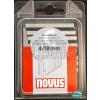 Novus tűzőkapocs C 6,1x1,1mm 18mm 1100db-os