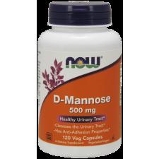 Now Foods D-Mannose 500mg (120 kapszula) vitamin és táplálékkiegészítő