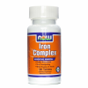 Now Foods NOW IRON COMPLEX TABLETTA 100 DB