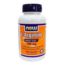 Now L-Arginine kapszula 100 db táplálékkiegészítő
