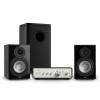 Numan Drive 802, sztereo készlet, erősítő, polc hangfal, subwoofer, fekete