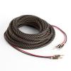 Numan hangfalkábel, OFC, réz, 2 x 3,5 mm², 5 m, textilborítás, standardizált