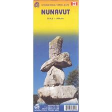 Nunavut térkép - ITM térkép