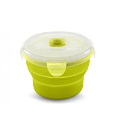 Nuvita összecsukható szilikon tányér 540ml - Zöld - 4468 tányér és evőeszköz